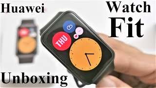 Huawei Watch Fit - Unboxing and First Impressions