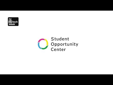 Student Opportunity Center pitches at New York Edtech Week 2017