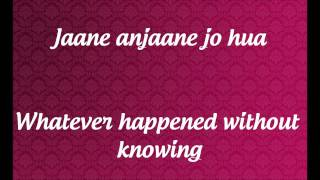 """""""Teri Aahatein"""" Lyrics & English Translation- Ek Main Aur Ekk Tu 2012"""