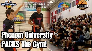 Phenom University Shows Why They PACK The Gym Every Game! Highlights Galore!