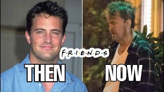 Cast Of Friends From First Vs Last Season