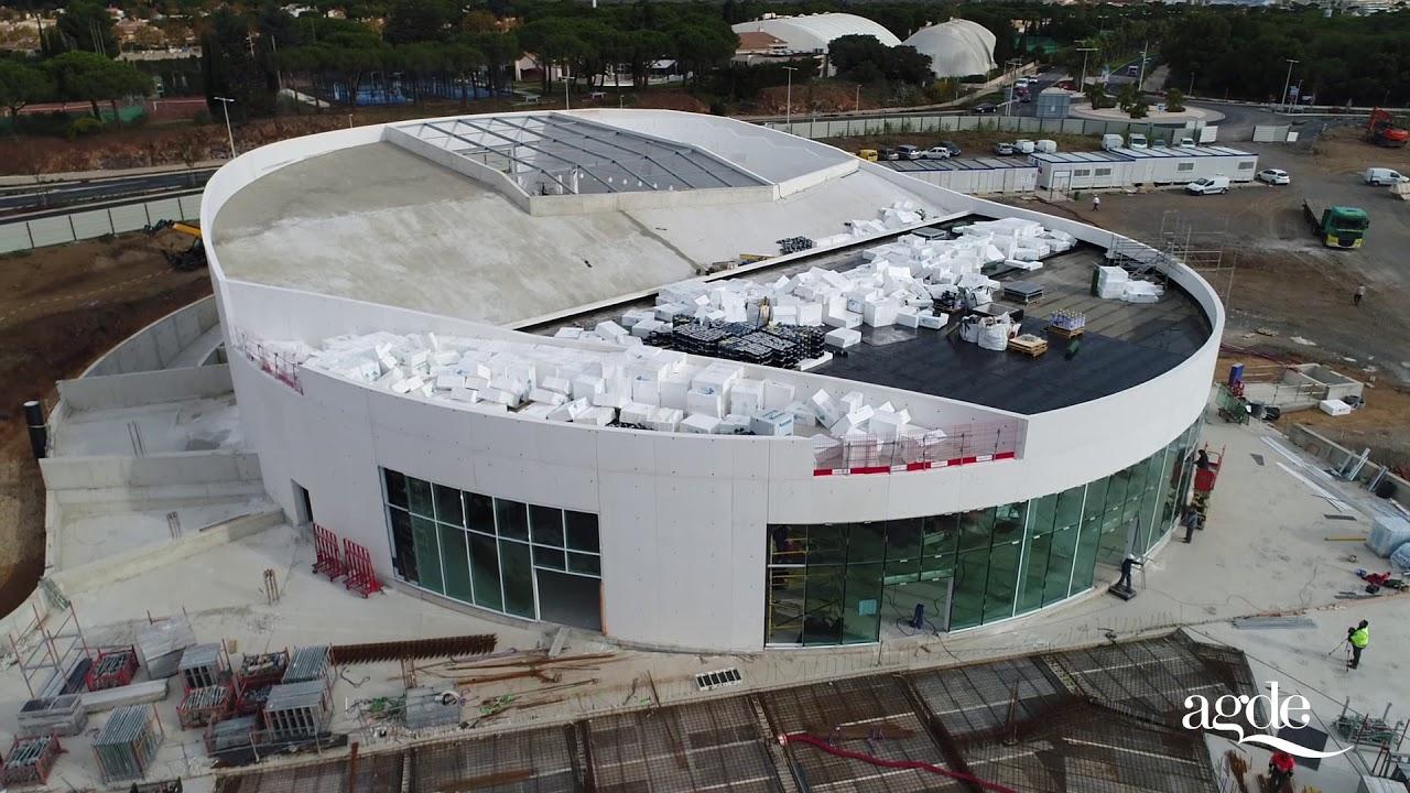 Agde ambition 2020 construction du palais des congr s et for Projet cap d agde 2020