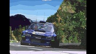 Richard Burns Rally PLEB Attack! Rally school 1:11 RBR 18 real rallye mod