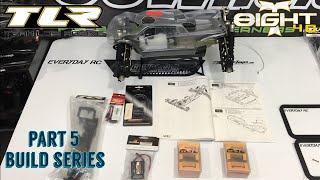 TLR 8IGHT-T 4.0 NITRO TRUGGY KIT-ELECTRONICS-PART 5 BUILD SERIES