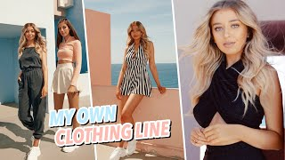 SURPRISE! I Created My OWN Clothing Line! Behind the Scenes Vlog!