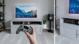 "Building My NEW TV Setup - 55"" OLED Living Room"