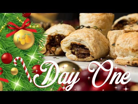 Vegan Mini Wellington & Chestnut Sausage Rolls | 12 DAYS OF CHRISTMAS