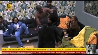 Big Brother Angola- Beijos falados