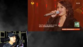 (REACTION) KZ TANDINGAN China SINGER 2018 Rolling in the Deep
