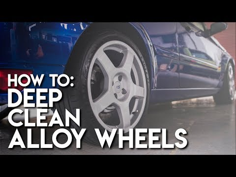 How To: Clean Alloy Wheels like a pro - Detailing & restoring alloy wheels