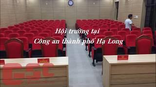 Siêu bất ngờ với công trình hội trường tại Công an thành phố Hạ Long