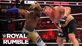 Rey Mysterio and The New Day try to topple Brock Lesnar: Royal Rumble 2020 (WWE Network Exclusive)
