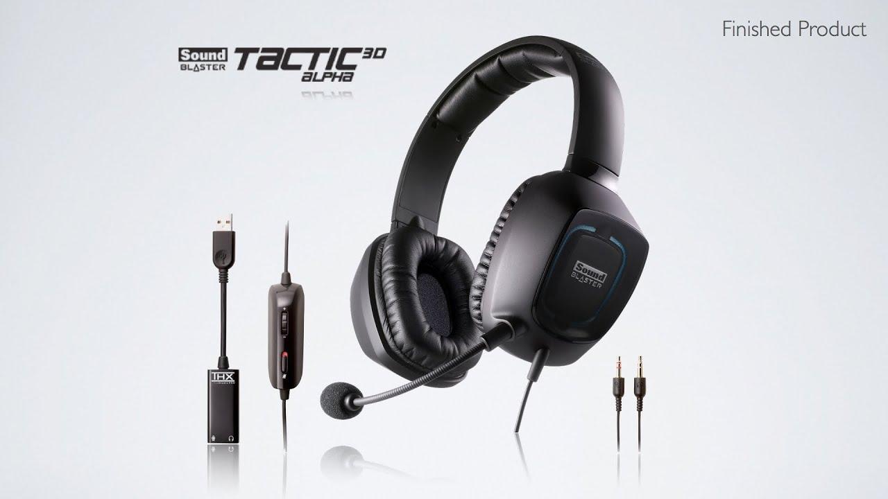 Creative Sound Blaster Tactic3D Alpha Headset Treiber