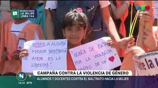 PINTAR EL MUNDO DE NARANJA, ESTUDIANTES CONTRA LA VIOLENCIA DE GÉNERO