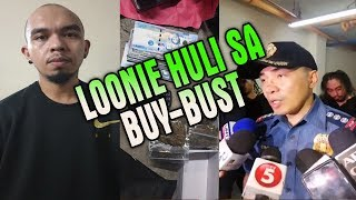 ACTUAL VIDEO RAPPER NA SI LOONIE | arestado sa buy-bust operation sa Makati Video