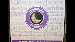 Insomnia Cookies: Peanut Butter, Chocolate Chip, Double Chocolate & Sugar Cookie Review
