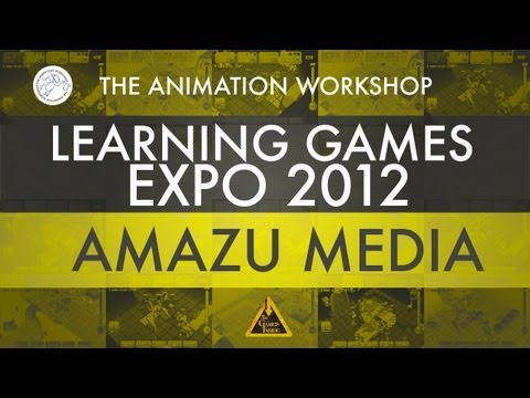 Amazu Media Interview - Light Apprentice & Shrug Island - Learning Games Expo 2012 - Denmark