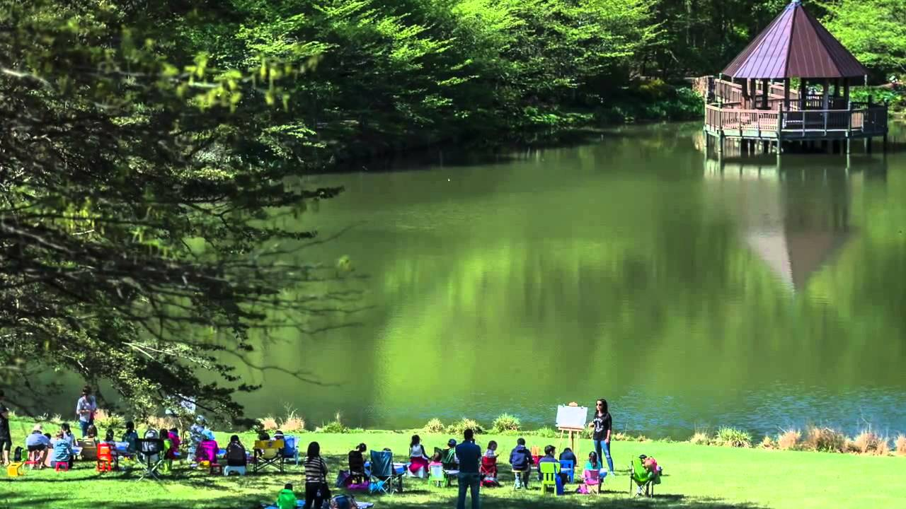 Superbe Meadowlark Botanical Gardens In May