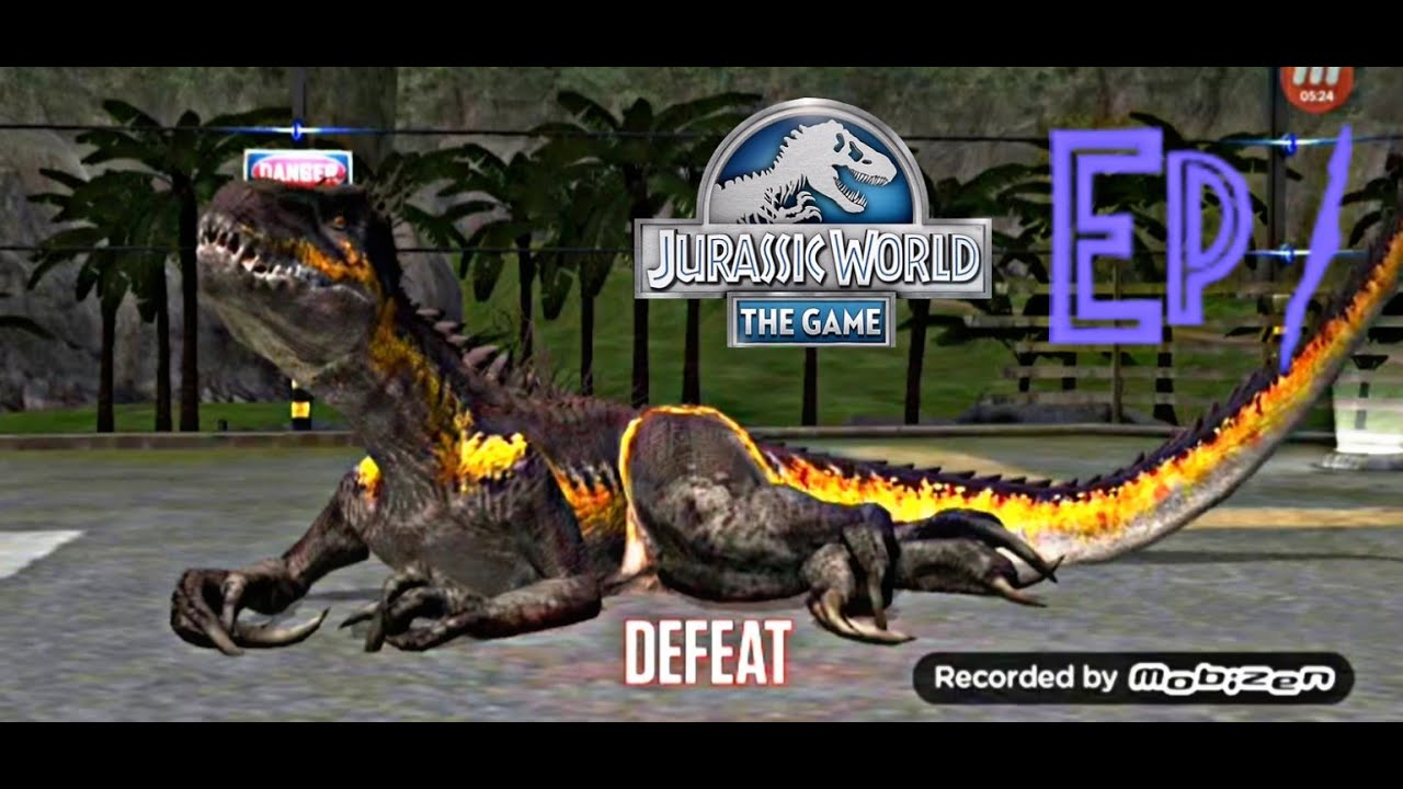 Jurassic World: The Game: Ep. 1- WHY DO I KEEP LOSING?!