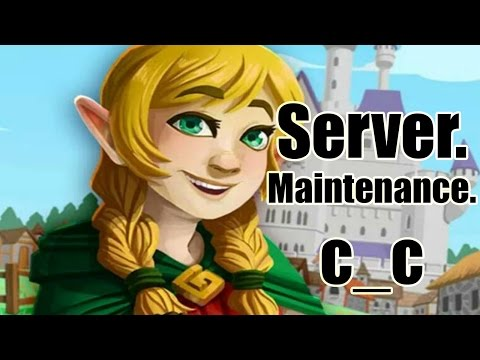 Knights and Dragons - Powerlevelling the NEW SHADOWFORGED! + Server Maintenance?