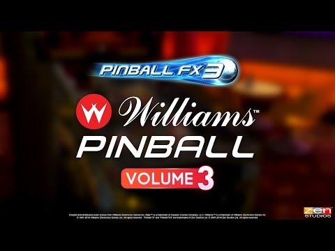 Williams Pinball Vol. 3 for Pinball FX3 – Theatre of Magic! The Champion Pub! Safe Cracker!