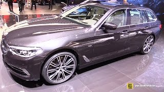2017 BMW 540i Touring - Exterior and Interior Walkaround - 2017 Geneva Motor Show