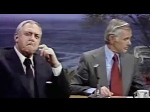 Johnny Carson  with Raymond Burr