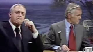 Johnny Carson interview with Raymond Burr
