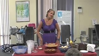 Karen Peek Cooking Demo - Pasta Salad, Pesto, & Breakfast Smoothie