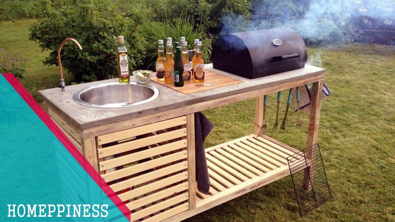 diy outdoor patio kitchen ideas (NEW DESIGN 2017) 20+ DIY Outdoor Kitchen Ideas   SIMPLE & EASY - YouTube