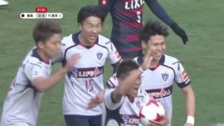 FC東京がオウンゴールで王者鹿島相手に先制!明治安田J1のゴール動画...