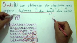 Olasılık 1 Şenol Hoca Matematik