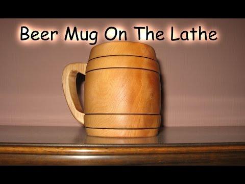 Making a Beer Mug - Woodturning