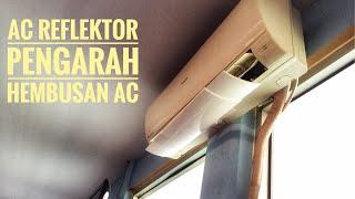 AC AIR SCREEN COVER. REFLEKTOR TALANG AIR PENAHAN HEMBUSAN ANGIN AC ELECTRONIK RUMAH TANGGA