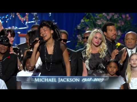 Heal the World - Michael Jackson Memorial Service - HD720p