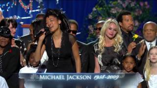 Download lagu Heal the World - Michael Jackson Memorial Service - HD720p