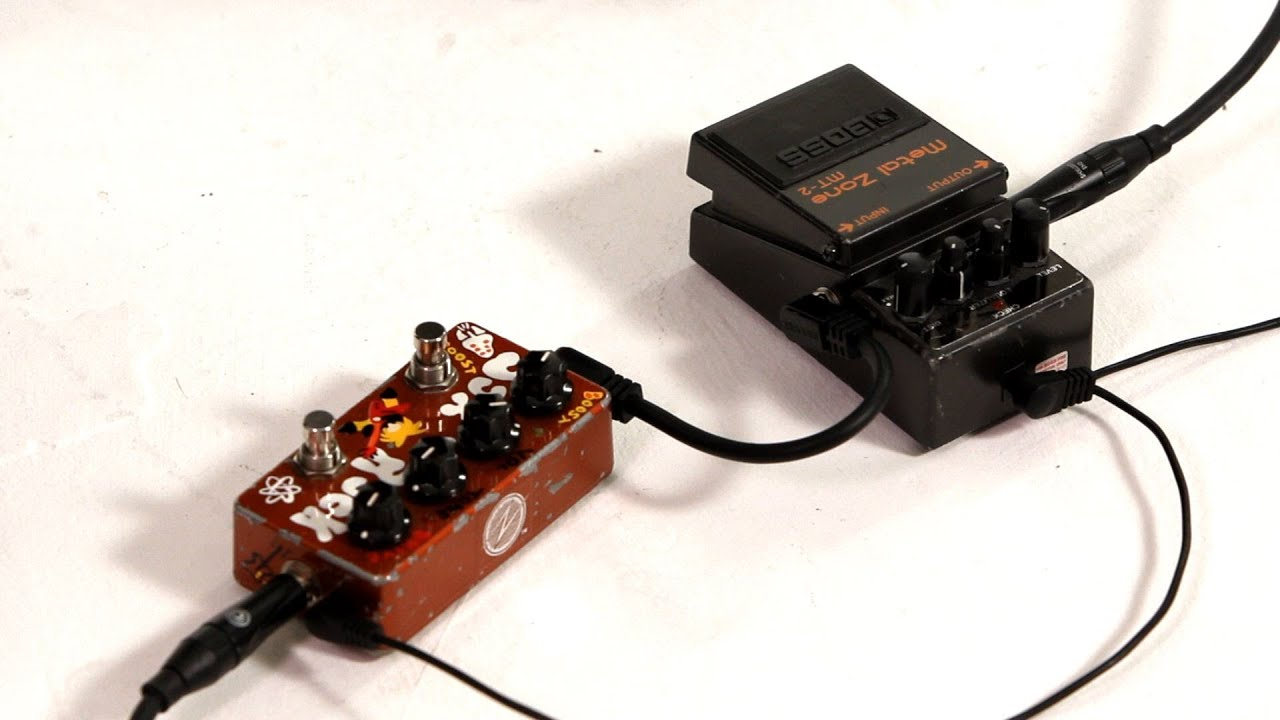 distortion pedal vs overdrive pedal guitar pedals youtube