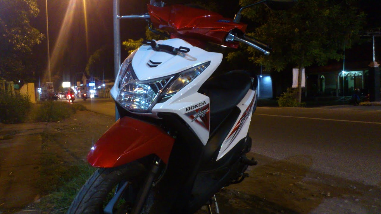 Honda Matic Beat ESP Kelir Merah Putih YouTube