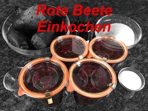 Rote Beete Einkochen