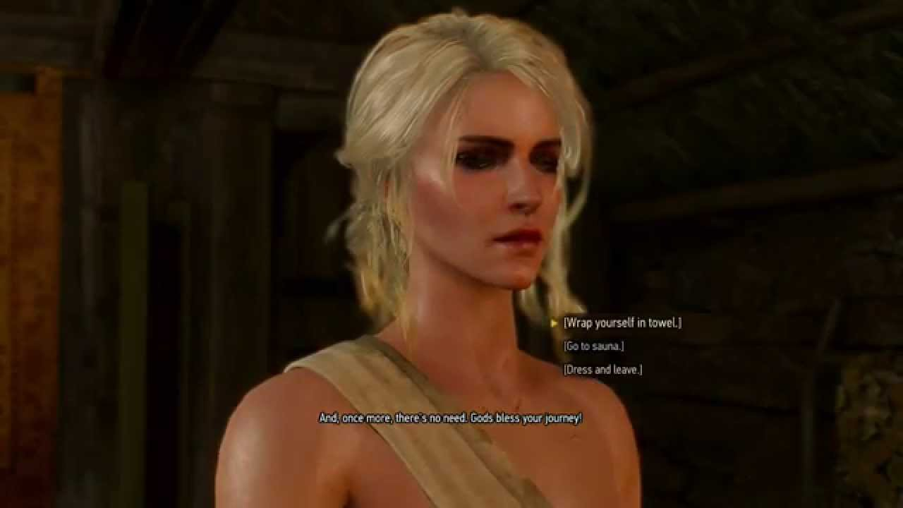 WITCHER 3 Ciri playable in SKYRIM (Nude support) - YouTube