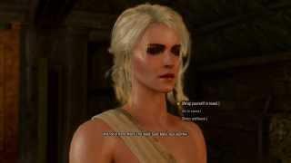Witcher 3 - half-naked Ciri in Sauna