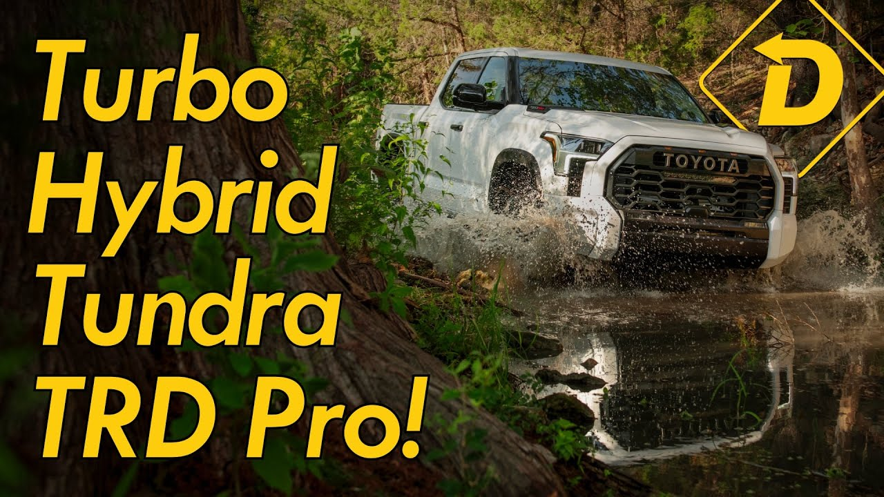 The 2022 Toyota Tundra TRD Pro Is A Techy Turbo Hybrid With New Skills