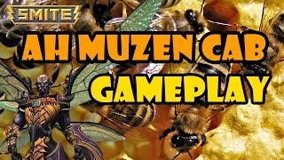 "SMITE Ah Muzen Cab Gameplay - ""Top Secret"""