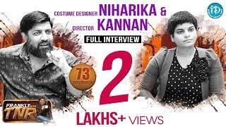 Costume Designer Niharika Reddy Full interview || Frankly With TNR #73 || Talking Movies #472