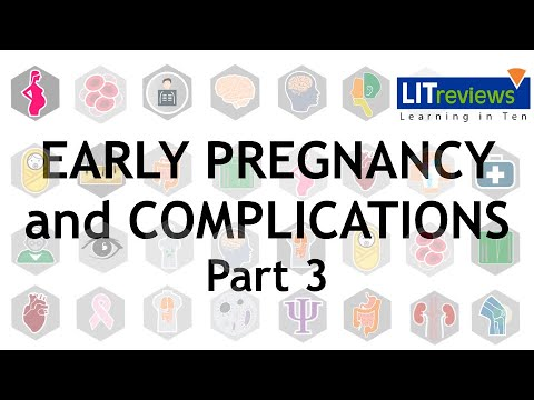 Complications in Early Pregnancy Part 03