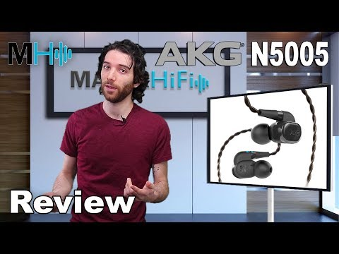 AKG N5005 High-end in ear headphones. Review