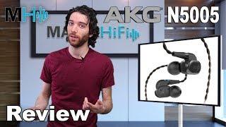 Video AKG N5005 High-end in ear headphones. Review download MP3, MP4, WEBM, AVI, FLV April 2018