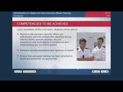 Mariner Safety Services LLC - Vessel Security Officer Demo