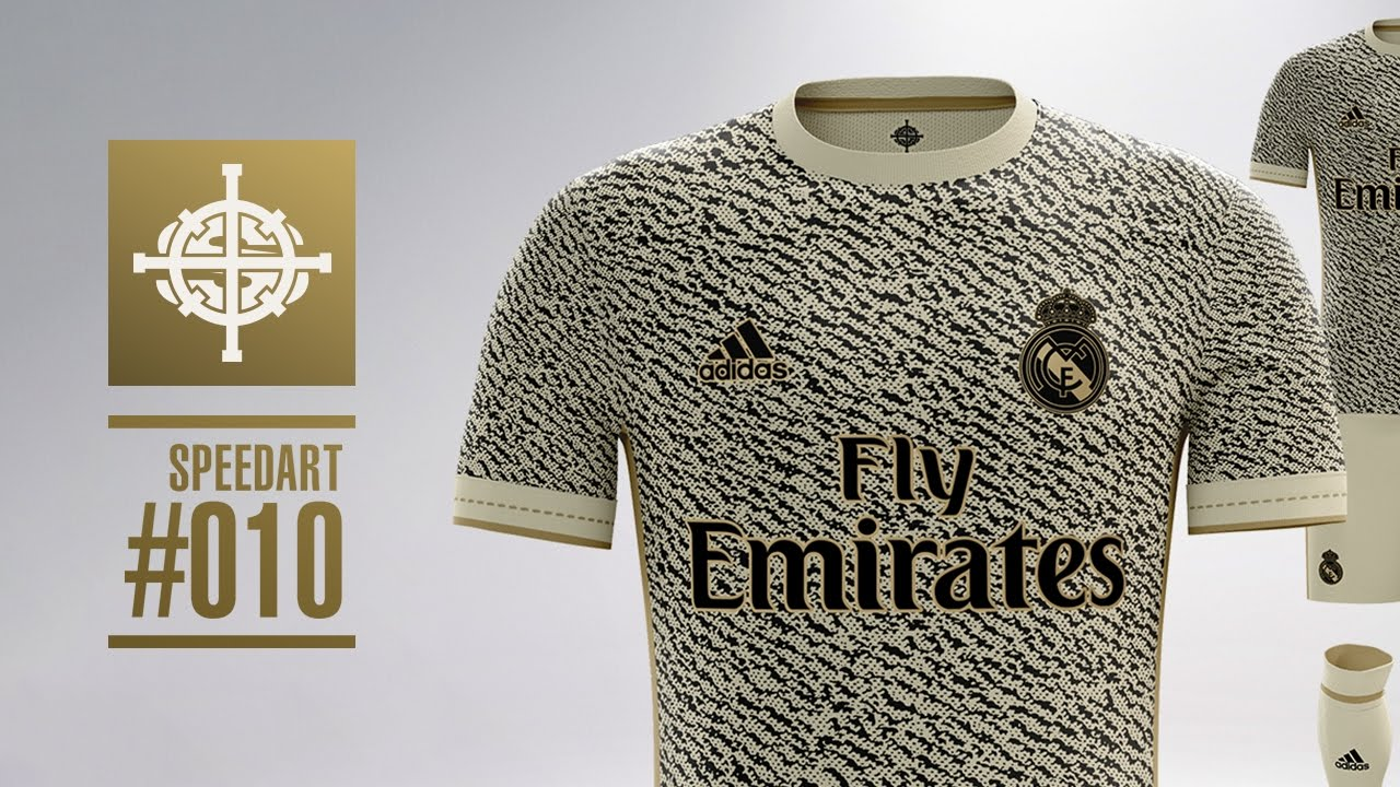 1383adadfa0 ADIDAS X YEEZY REAL MADRID FOOTBALL KIT CONCEPT    SPEEDART  010 ...