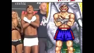 Cosplay meets MMA